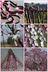Kirschblütencollage